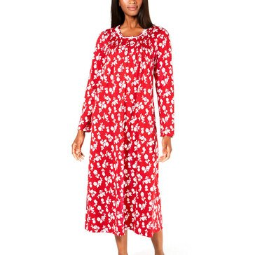Charter Club Women's Retro Roses Gown extended sizes
