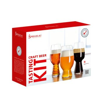 Spiegelau 3-Piece Craft Beer Tasting Kit