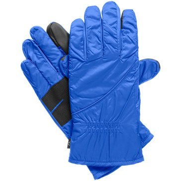 Totes Isotoner Polartec Neverwet SmarTouch Glove Blue Spark Size SM
