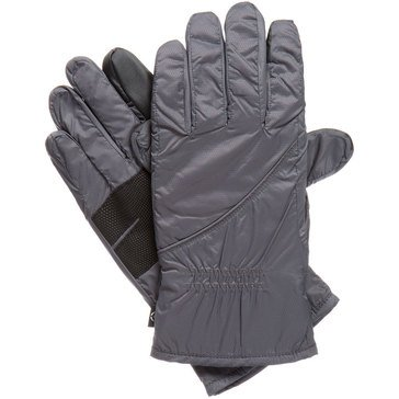 Totes Isotoner Polartec Neverwet SmarTouch Glove Charcoal Size SM