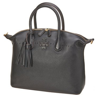 Tory Burch McGraw Slouchy Satchel Black