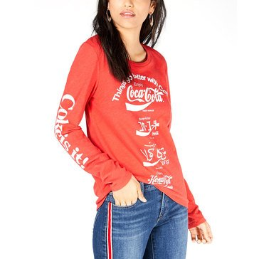 Lucky Brand Women's Multi Lingqual Coca Cola Tee