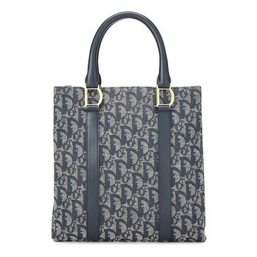 Dior Canvas Handbag Navy