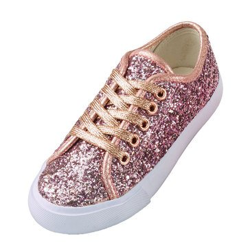 Epic Step Morgan Glitter Sneaker Rose Gole