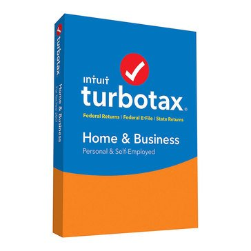 Turbotax Home and Business 2018 Tax Software