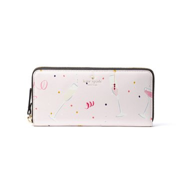 Kate Spade Dashing Beauty Lindsey Continental Wallet Multi