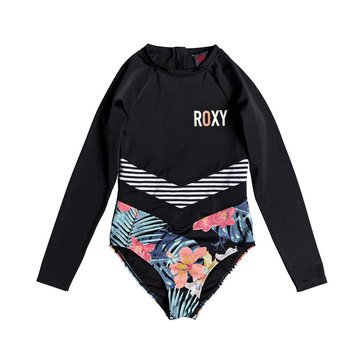 Roxy Big Girls' Island Trip Long Sleeve Onesie