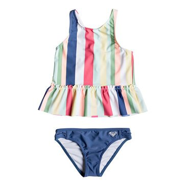 Roxy Little Girls' Paradise Tropics Tankini Set