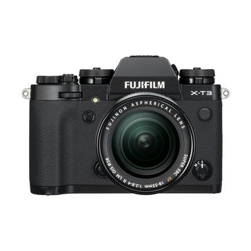 Fujifilm X-T3 Mirrorless Digital Camera Kit with 18-55mm Lens (Black)