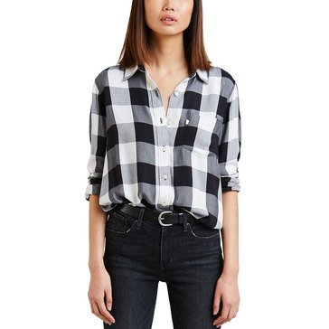 Levi's Women's Ultimate Boyfriend Buffalo Check Shirt