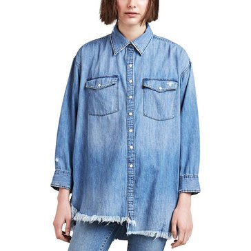 Levis Ladies Naza Oversized Denim Shirt