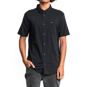Rvca Men's Legacy Short Sleeve Woven Shirt