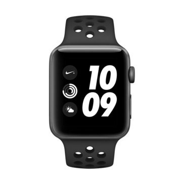 Apple Watch Nike+ Series 3 (GPS) Aluminum with Sport Band and AppleCare+ Bundle