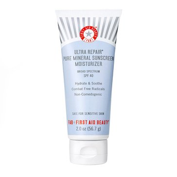 First Aid Beauty Ultra Repair Pure Mineral Sunscreen Moisturizer SPF40