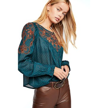 Free People Women's Everything I Know Blouse