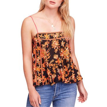 Free People Sweet Talk Printed Cami