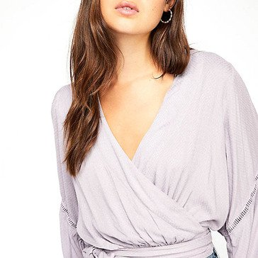 Free People Women's Dream Girl Wrap Top