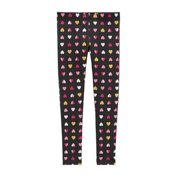 Carters Little Girls All Over Heart Print Legging