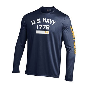 Under Armour Men's USN 1775 Long Sleeve Tech Tee