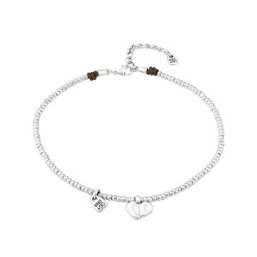 Unode50 Sterling Silver Romeo Hearts Necklace