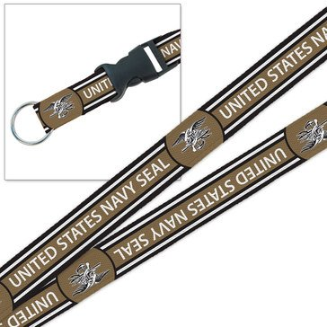 MCM US Navy Seals Sublimated Lanyard With 3/4