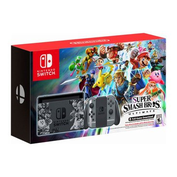 Switch Super Smash Bros Ultimate Edition Bundle