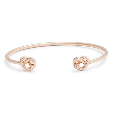 Kate Spade New York Double Loves Me Knot Cuff, Rose Gold Tone