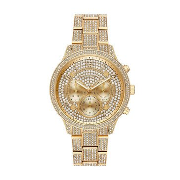 Michael Kors Women's Runsway Two-Tone Gold Bracelet Watch, 43mm