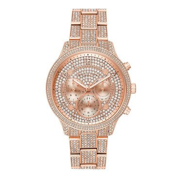 Michael Kors Women's Runway Two-Tone Rose Bracelet Watch, 43mm