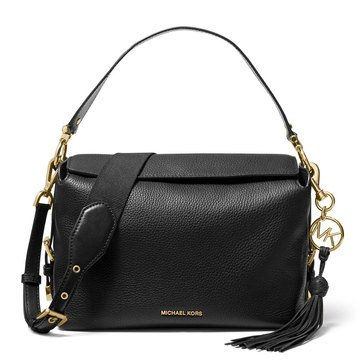Michael Kors Brooke Medium Satchel Black