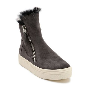 Dolce Vita Women's Tulli High Top Fur Sneaker