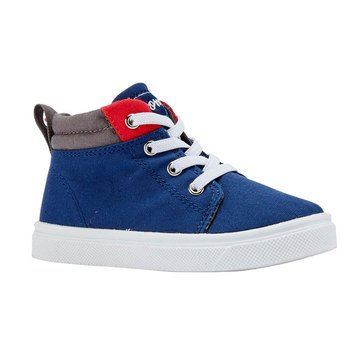 Oomphies Boys Sam Canvas Mid Shoe (Toddler/Little Kid)