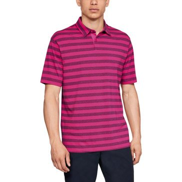 Under Armour Men's Scramble Striped Polo