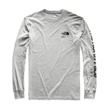 The North Face Men's Long Sleeve Half Dome Explore Tee