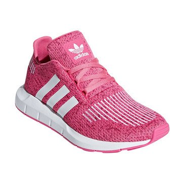 Adidas Girls Swift Run C Running Shoe (Little Kid)