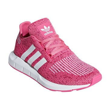 Adidas Girls Swift Run C Running Shoe (Youth)