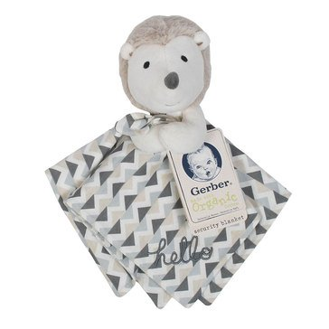 Gerber Organic Security Blanket, Hedgehog