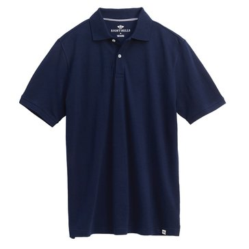 Eight Bells Men's Short Sleeve Pique Polo
