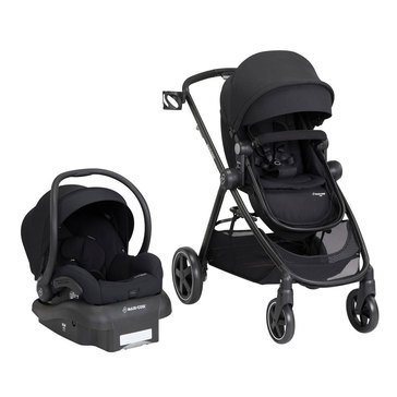Maxi-Cosi Zelia Travel System With Mico 30, Night Black