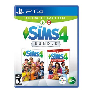 PS4 The Sims 4 Cats Dogs Bundle