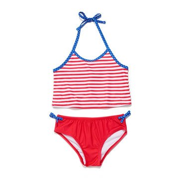 Yarn & Sea 2-Piece Americana Stripe Tankini
