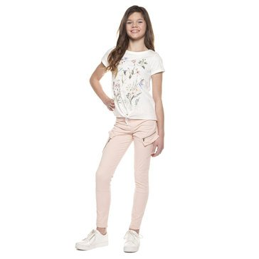 Dex Big Girl's Choose Happy Tee