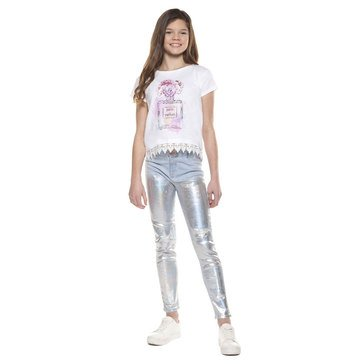DEX Big Girls Paris Printed Tee