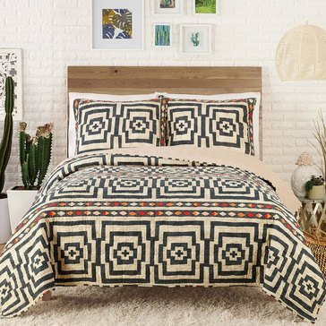 Justina Blakeney Hypnotic 3-Piece Quilt Set
