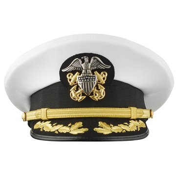 Bernard ACC CAPT/CDR Complete Combination Dress Cap Style #1384W
