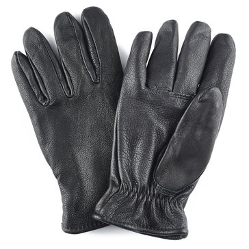 Saranac Men's Black 100% Leather Lined Glove Style #DBL650