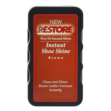 Restore Black Instant Shine Travel Sponge