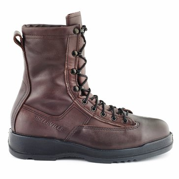 Belleville Chocolate Brown Flight Deck Steel Toe Boot