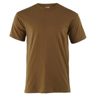 MJ Soffe Coyote Brown 100% Cotton TEE 3 Pack Style #682M-3
