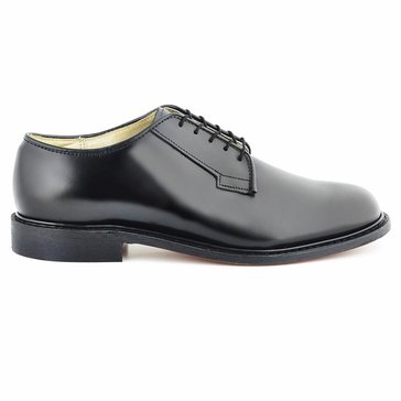 Bates Premier Men's Black All Leather Dress Oxford
